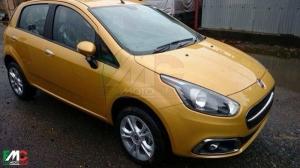 Fiat Punto выйдет в обновленной версии (фото)