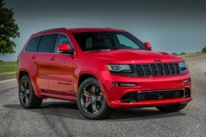 Jeep представил «заряженный» Grand Cherokee SRT 2015 (фото)