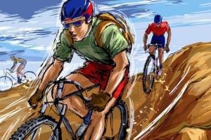 Брест: в отношении велосипедиста, сбившего мальчика на тротуаре, возбуждено уголовное дело