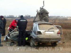 Четыре человека погибли в ДТП под Мстиславлем