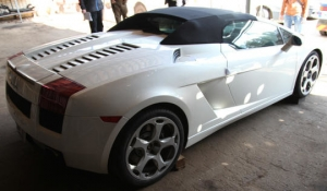 Конфискованная Lamborghini в Беларуси опять подешевела