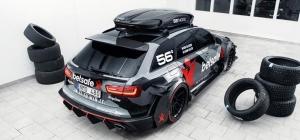 Неизвестные угнали Audi RS6 за полмиллиона долларов и сожгли его