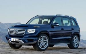 Немцы готовят компактный внедорожник Mercedes GLB