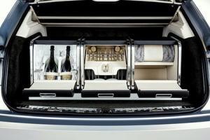 Первый кроссовер Bentley превратили в машину для пикника