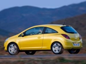 Три автомобиля Opel Corsa по договоренности с General Motors собраны в Беларуси