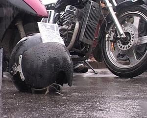В Любанском районе пьяный подросток на мотоцикле едва не погубил двух своих пассажиров
