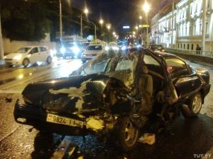 В Минске 17-летний водитель совершил лобовое столкновение и убежал с места ДТП