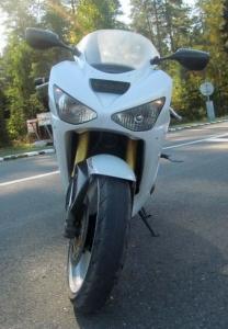В Слуцке погиб мотоциклист. Первое ДТП на новой улице