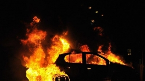 В Витебске из горящего автомобиля был спасен мужчина