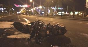 В Витебске погибли мотоциклист и сбитая им семейная пара, переходившая дорогу
