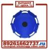 Колпаки колёсные 22. 5 передние пластик синие в Москве